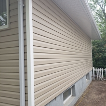 Completed windows, insulation and siding. <br> This renovation not only adds value to homeowners property, it saves on energy Bills with our enerfoil insulation under the new royal residential siding which adds an extra 6.2 R value.